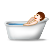 Person Taking Bath on Samsung TouchWiz Nature UX 2