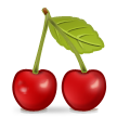 Cherries on Samsung TouchWiz Nature UX 2