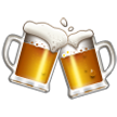Clinking Beer Mugs on Samsung TouchWiz Nature UX 2