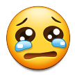 Crying Face on Samsung TouchWiz Nature UX 2