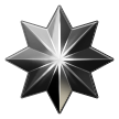 Eight-Pointed Star on Samsung TouchWiz Nature UX 2