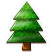 Evergreen Tree on Samsung TouchWiz Nature UX 2