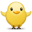 Front-Facing Baby Chick on Samsung TouchWiz Nature UX 2