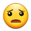 Frowning Face With Open Mouth on Samsung TouchWiz Nature UX 2