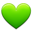Green Heart on Samsung TouchWiz Nature UX 2
