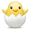 Hatching Chick on Samsung TouchWiz Nature UX 2