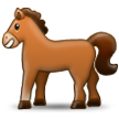 Horse on Samsung TouchWiz Nature UX 2