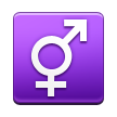Male and Female Sign on Samsung TouchWiz Nature UX 2