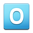 O Button (Blood Type) on Samsung TouchWiz Nature UX 2