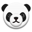 Panda Face on Samsung TouchWiz Nature UX 2