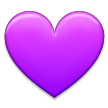 Purple Heart on Samsung TouchWiz Nature UX 2