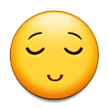 Relieved Face on Samsung TouchWiz Nature UX 2