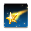 Shooting Star on Samsung TouchWiz Nature UX 2
