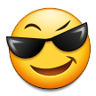 Smiling Face With Sunglasses on Samsung TouchWiz Nature UX 2