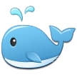 Spouting Whale on Samsung TouchWiz Nature UX 2