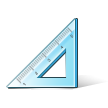 Triangular Ruler on Samsung TouchWiz Nature UX 2