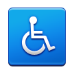 Wheelchair Symbol on Samsung TouchWiz Nature UX 2