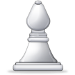 White Chess Bishop on Samsung TouchWiz Nature UX 2