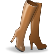 Woman's Boot on Samsung TouchWiz Nature UX 2