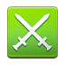 Crossed Swords on Samsung TouchWiz 5.1