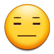 Expressionless Face on Samsung TouchWiz 5.1