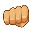 Oncoming Fist on Samsung TouchWiz 5.1