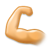 Flexed Biceps on Samsung TouchWiz 5.1