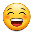 Beaming Face with Smiling Eyes on Samsung TouchWiz 5.1