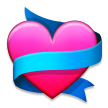 Heart With Ribbon on Samsung TouchWiz 5.1