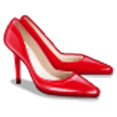 High-Heeled Shoe on Samsung TouchWiz 5.1