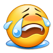 Loudly Crying Face on Samsung TouchWiz 5.1