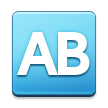 AB Button (Blood Type) on Samsung TouchWiz 5.1