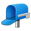 Open Mailbox with Lowered Flag on Samsung TouchWiz 5.1
