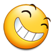Grinning Squinting Face on Samsung TouchWiz 5.1