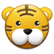 Tiger Face on Samsung TouchWiz 5.1