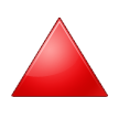 Red Triangle Pointed Up on Samsung TouchWiz 5.1