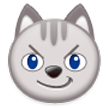 Cat Face With Wry Smile on Samsung Touchwiz 6.0