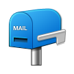 Closed Mailbox With Lowered Flag on Samsung Touchwiz 6.0
