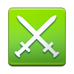 Crossed Swords on Samsung Touchwiz 6.0