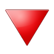 Red Triangle Pointed Down on Samsung Touchwiz 6.0