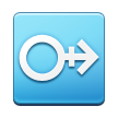 Horizontal Male with Stroke Sign on Samsung Touchwiz 6.0