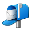 Open Mailbox With Raised Flag on Samsung Touchwiz 6.0