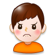 Person Frowning on Samsung Touchwiz 6.0