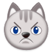 Pouting Cat Face on Samsung Touchwiz 6.0