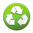 Recycled Paper Symbol on Samsung Touchwiz 6.0
