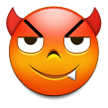 Smiling Face With Horns on Samsung Touchwiz 6.0
