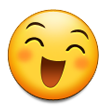 Grinning Face with Smiling Eyes on Samsung Touchwiz 6.0