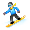 Snowboarder on Samsung Touchwiz 6.0