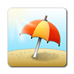 Umbrella on Ground on Samsung Touchwiz 6.0