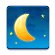 Waning Crescent Moon on Samsung Touchwiz 6.0